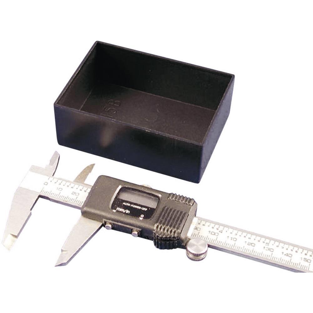 Hammond Electronics 1596B102-10-Lito kućište, ABS crno, 30x20x15mm, 10 kosov
