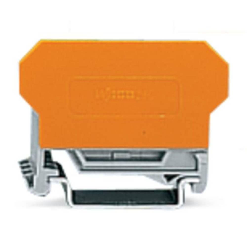 Basisklemmeblok 5 mm Trækfjeder Belægning: L Grå WAGO 280-618 1 stk