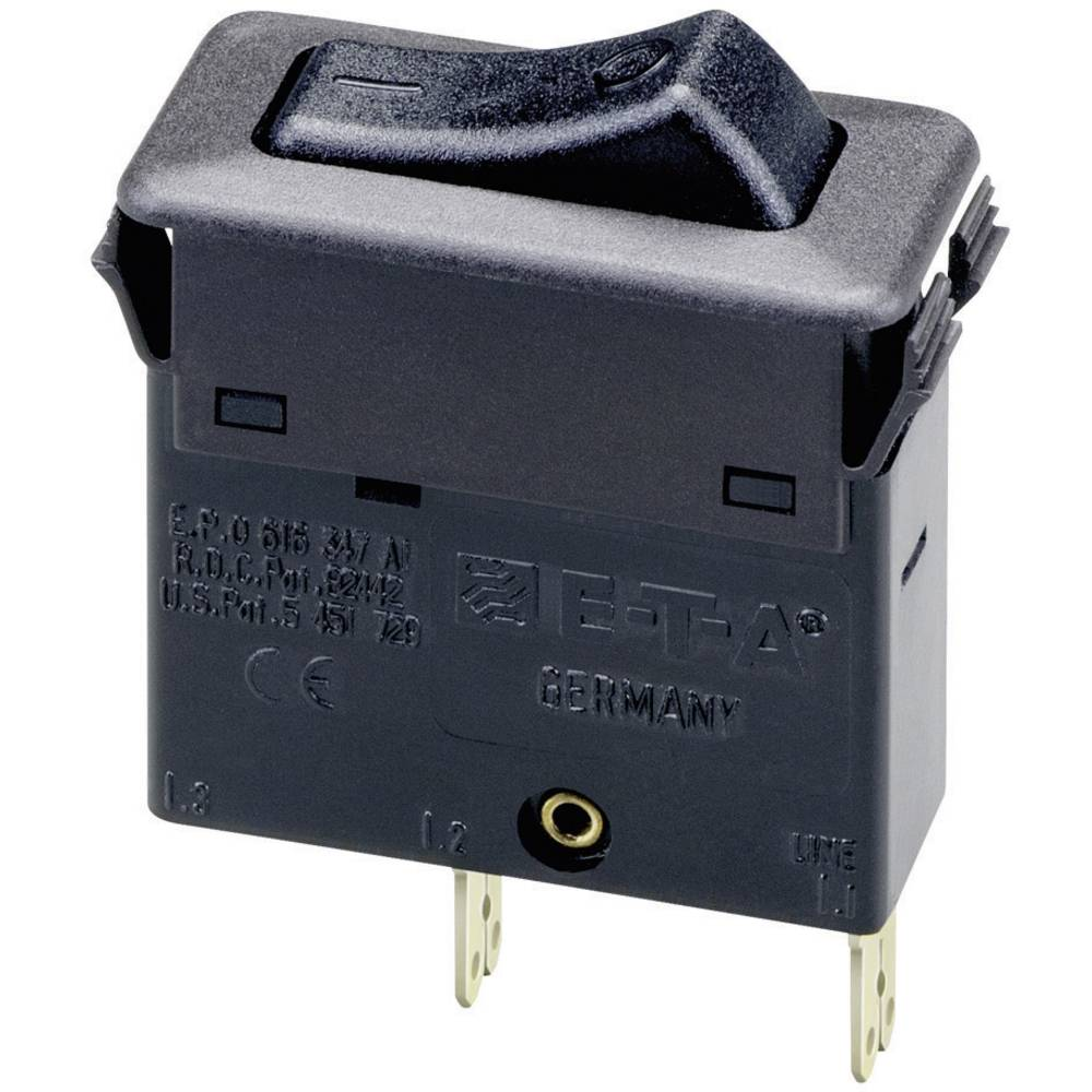 E-T-A Termično preklopno zaščitno stikalo, 1-polno, 3130-F110-P7T1-W01Q-0,5A, 240 V/AC, 50 ETA