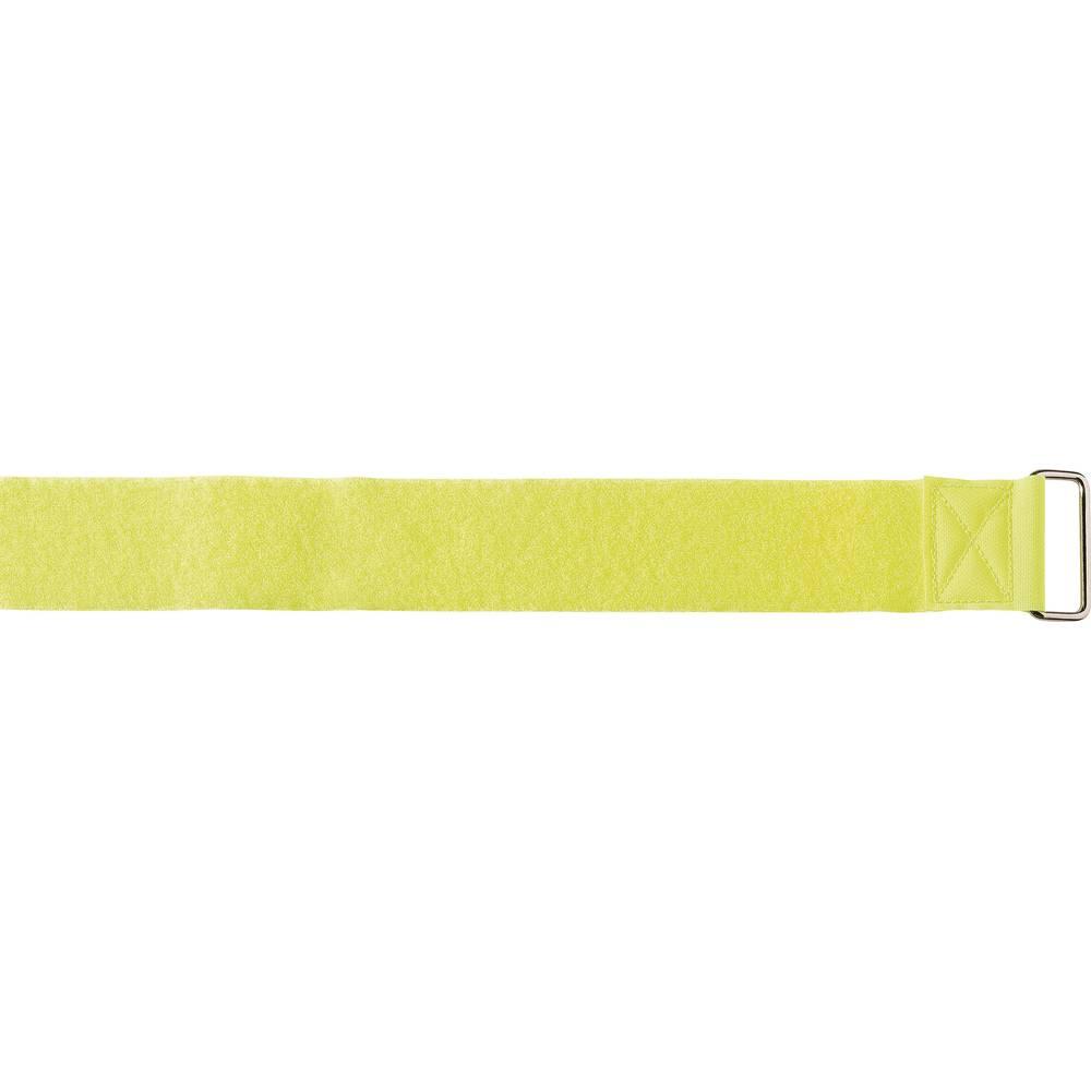 Remen s čičkom LogiStrap® Velcro prianjajući i mekani dio (D x Š) 4 m x 50 mm žuta 1 komad