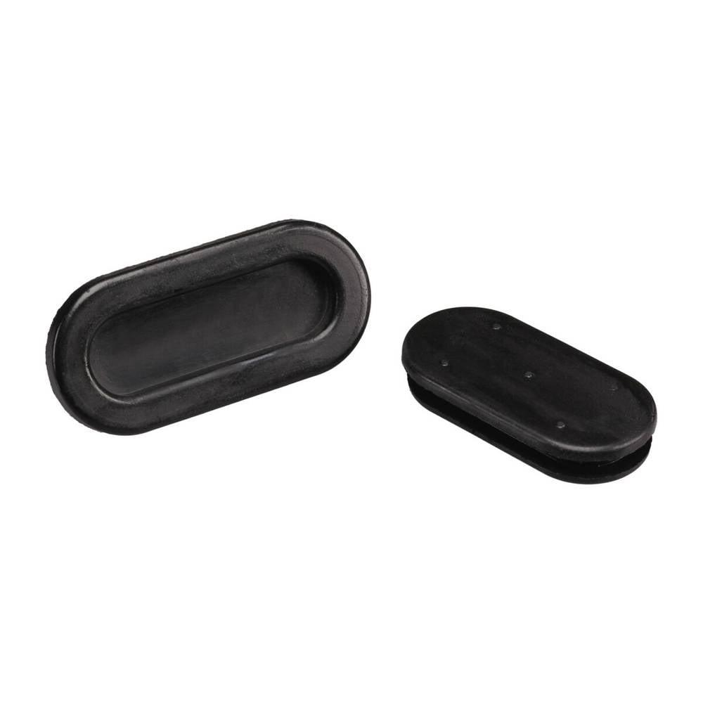 Kabelska uvodnica Langloch, promjer sponke (maks.) 26.6 mm PVC crne boje PB Fastener 1028-01 1 kom