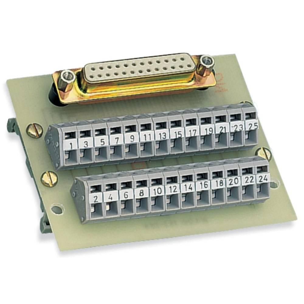 Prenosni modul, št. polov: 50 289-454 WAGO vsebina: 1 kos
