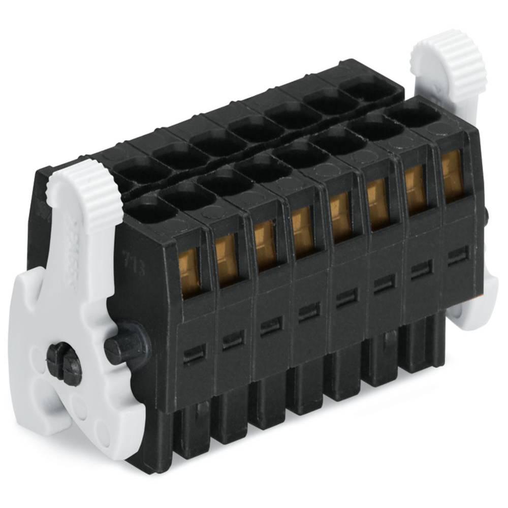 Tilslutningskabinet-kabel 713 (value.1360611) Samlet antal poler 6 WAGO 713-1103/037-9037/032-000 Rastermål: 3.50 mm 50 stk