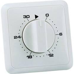 Podžbukni mjerač vremena, analogni, dnevni program 30 min. Wallair 20100249 3680 W IP20 2-polni