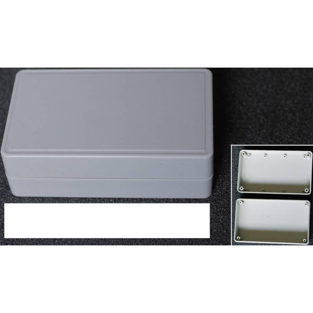 WeroPlast 21009-Univerzalno kućište, ABS, sivo, 124x73x40mm
