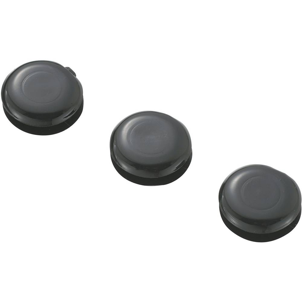 Nastavek za speljavo kablov KSS GMCQR-0705, črne barve, 10,2x 7,2 x 5 x 4,4 x 1,7 mm