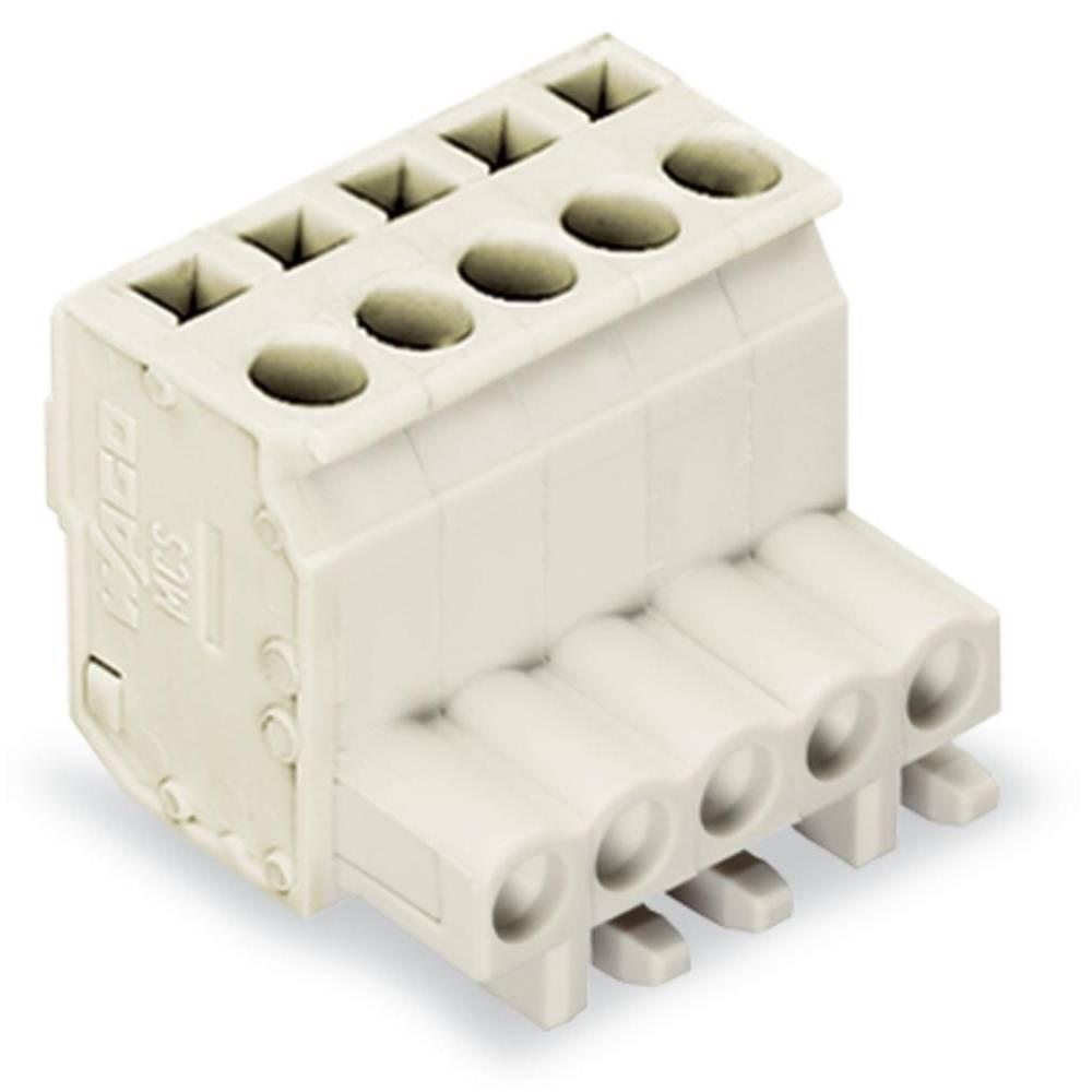 Tilslutningskabinet-kabel 722 (value.1361129) Samlet antal poler 2 WAGO 722-102/026-000 Rastermål: 5 mm 100 stk