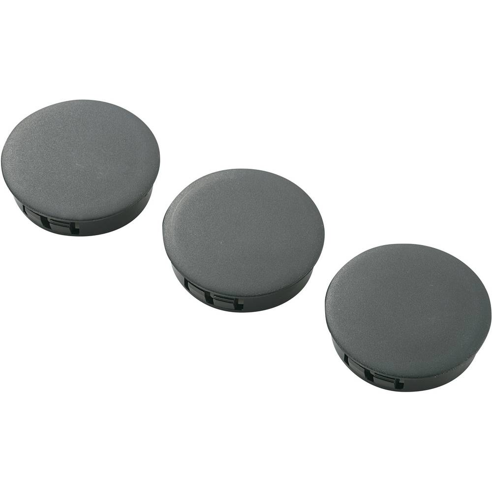 Pokrovček, poliamid črne barve KSS HPR-38 1 kos