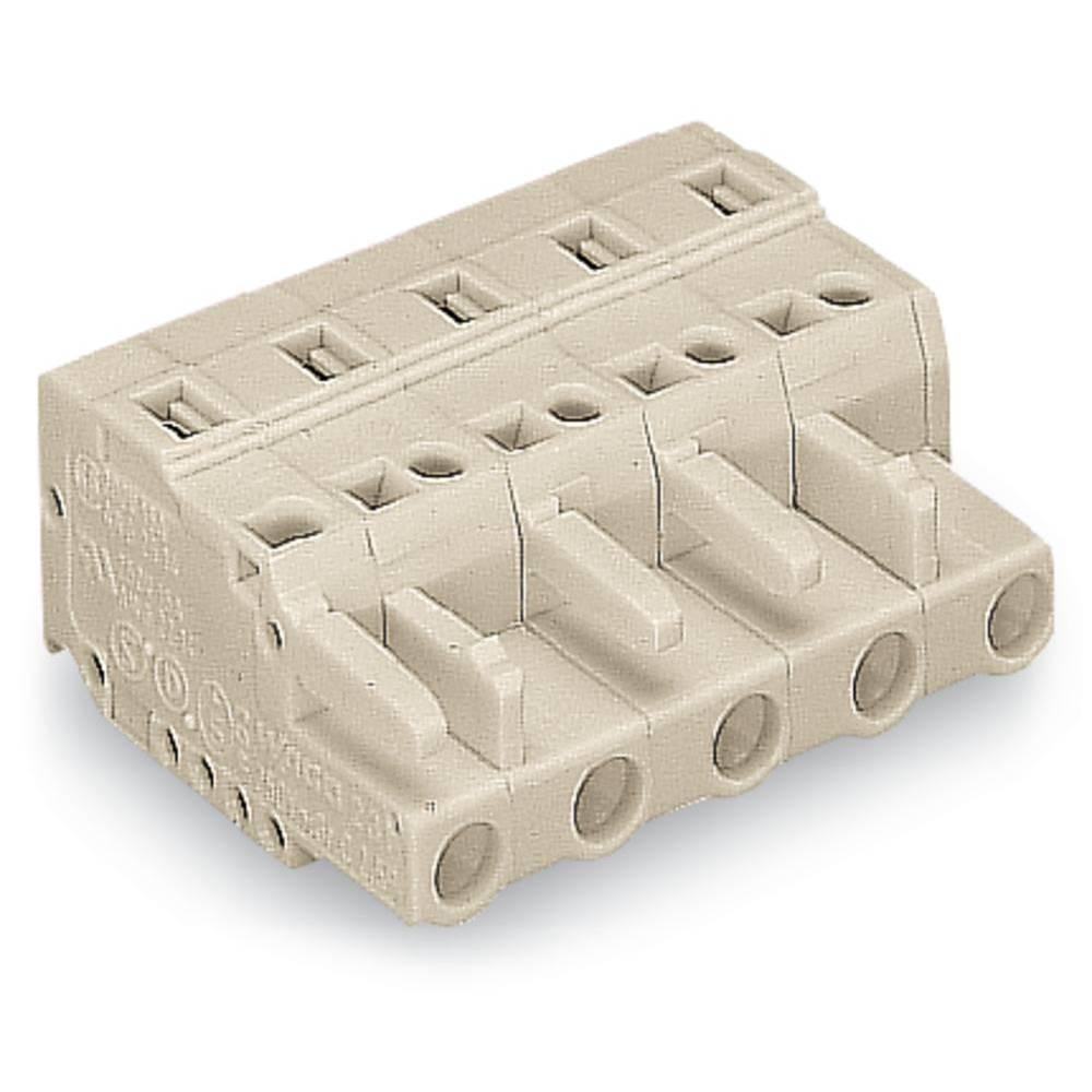 Tilslutningskabinet-kabel 721 (value.1361061) Samlet antal poler 10 WAGO 721-210/008-000 Rastermål: 7.50 mm 25 stk