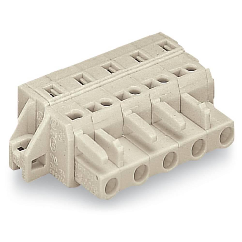 Tilslutningskabinet-kabel 721 (value.1361061) Samlet antal poler 2 WAGO 721-202/031-000 Rastermål: 7.50 mm 50 stk