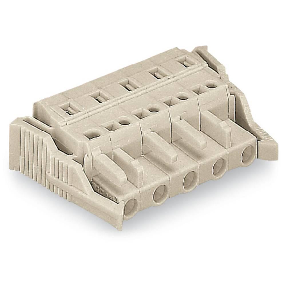 Tilslutningskabinet-kabel 721 (value.1361061) Samlet antal poler 11 WAGO 721-211/037-000 Rastermål: 7.50 mm 10 stk
