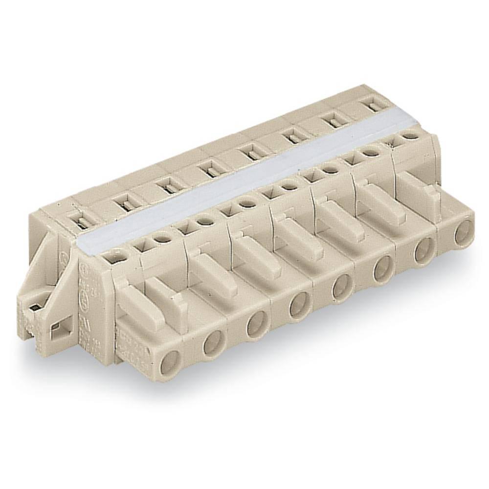 Tilslutningskabinet-kabel 721 Samlet antal poler 10 WAGO 721-210/027-000 Rastermål: 7.50 mm 25 stk