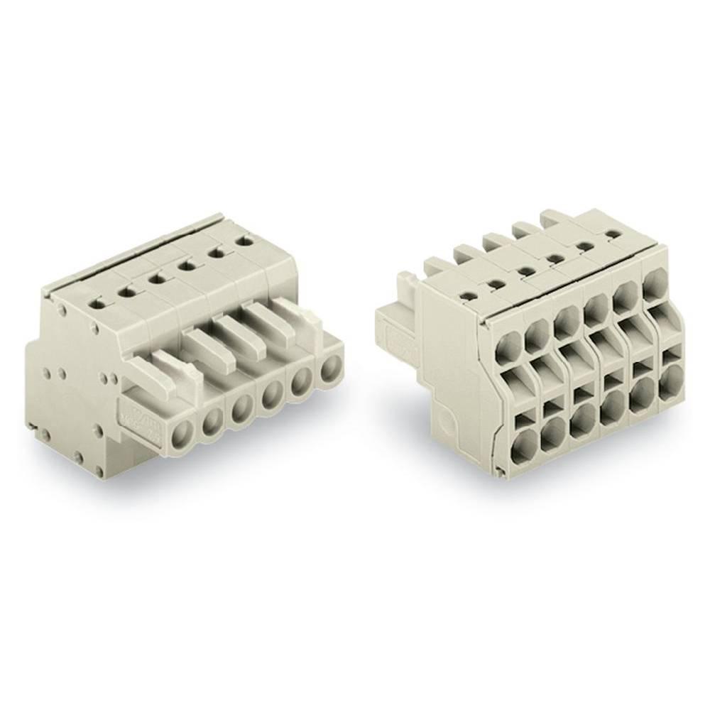 Tilslutningskabinet-kabel 721 (value.1361061) Samlet antal poler 4 WAGO 721-2104/026-000 Rastermål: 5 mm 100 stk