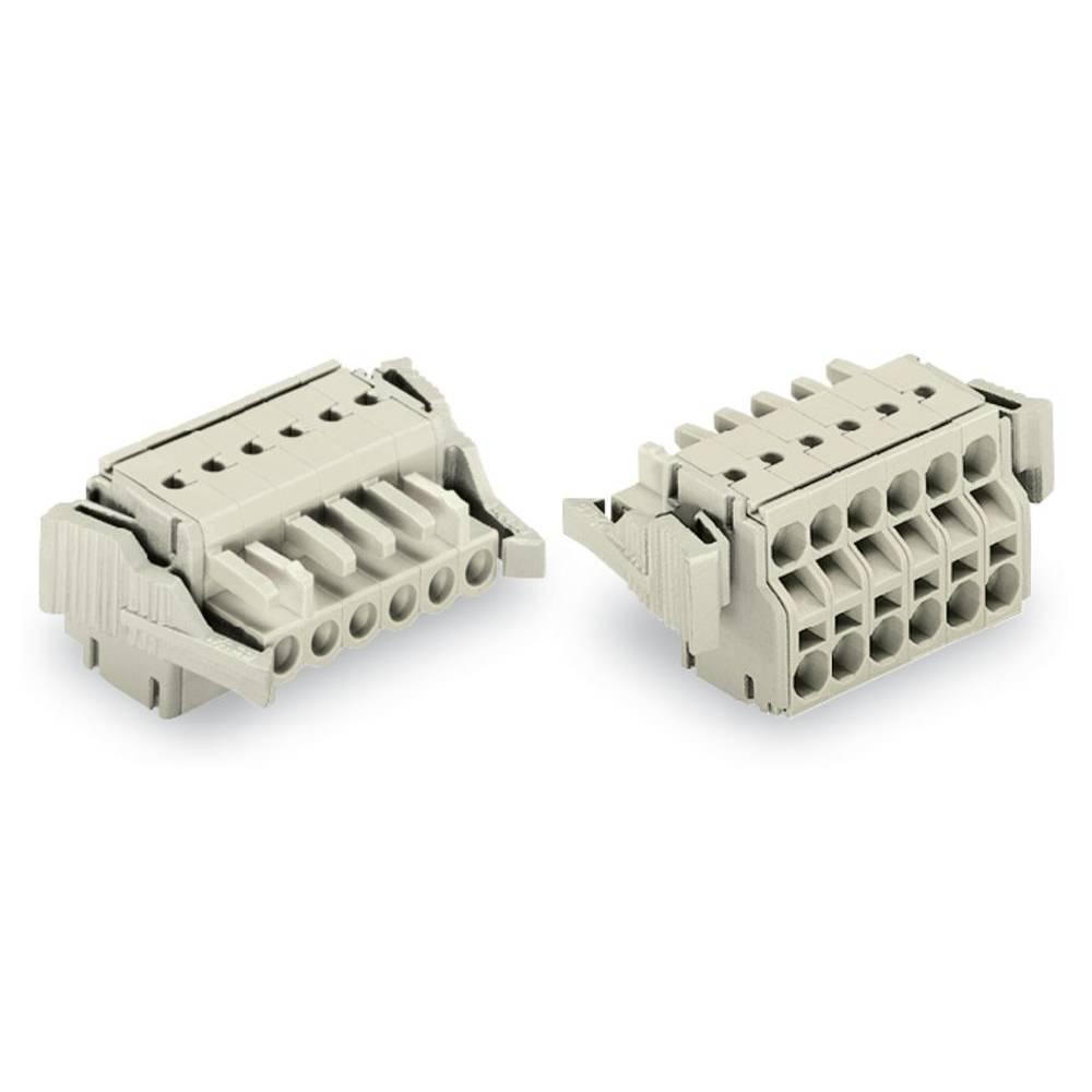 Tilslutningskabinet-kabel 721 (value.1361061) Samlet antal poler 8 WAGO 721-2108/037-000 Rastermål: 5 mm 25 stk