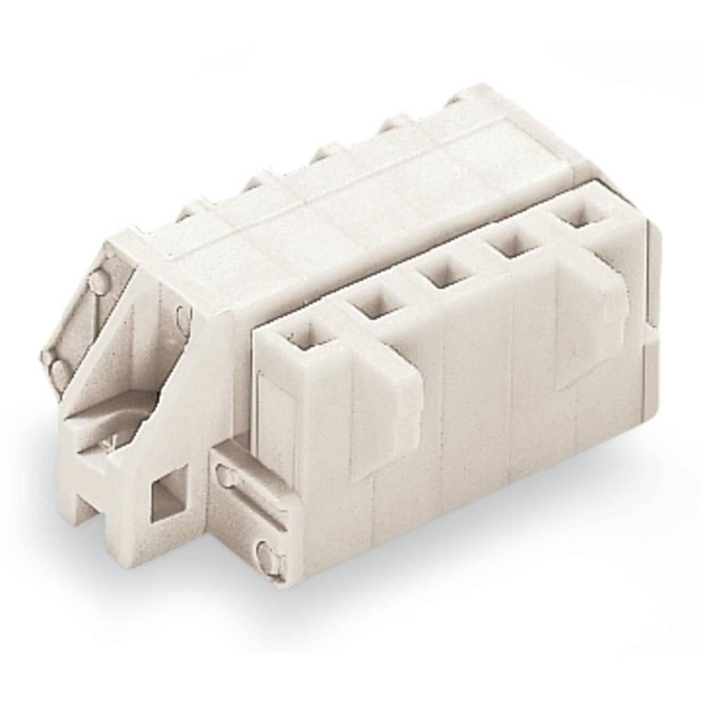Tilslutningskabinet-kabel 721 (value.1361061) Samlet antal poler 4 WAGO 721-304/031-047 Rastermål: 5 mm 50 stk