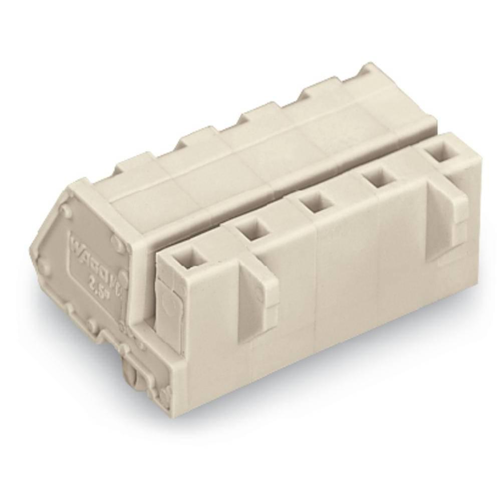 Tilslutningskabinet-kabel 721 Samlet antal poler 8 WAGO 721-338/008-000 Rastermål: 7.50 mm 25 stk