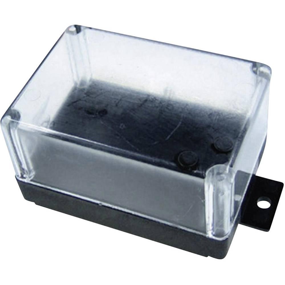 Univerzalno ohišje 72 x 50 x 40 termoplast črna barva, prozorno Kemo G021 1 kos