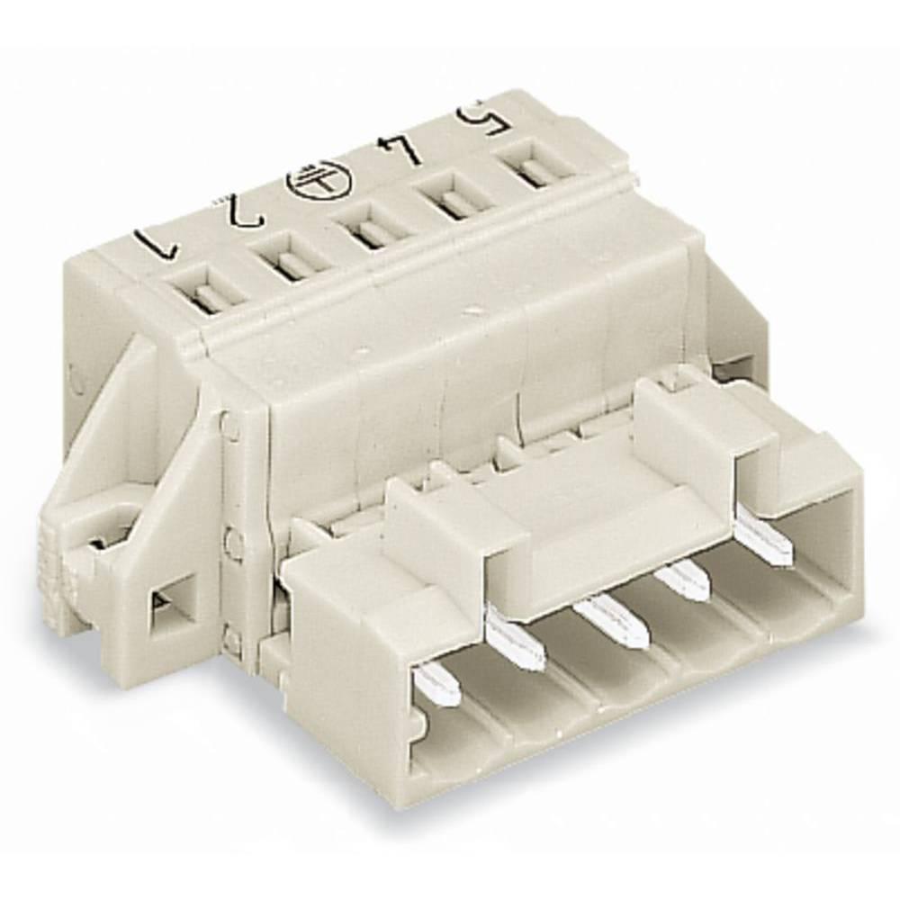 Pinski konektor (standarden) WAGO 721-605/019-000, mere: 5 mm 50 kosov