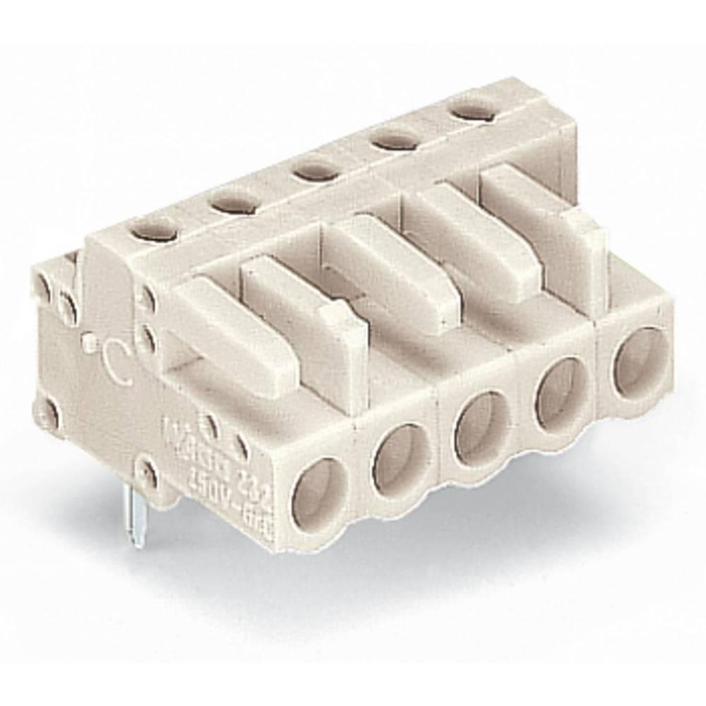 Tilslutningskabinet-printplade 722 (value.1361129) Samlet antal poler 4 WAGO 722-234 Rastermål: 5 mm 100 stk