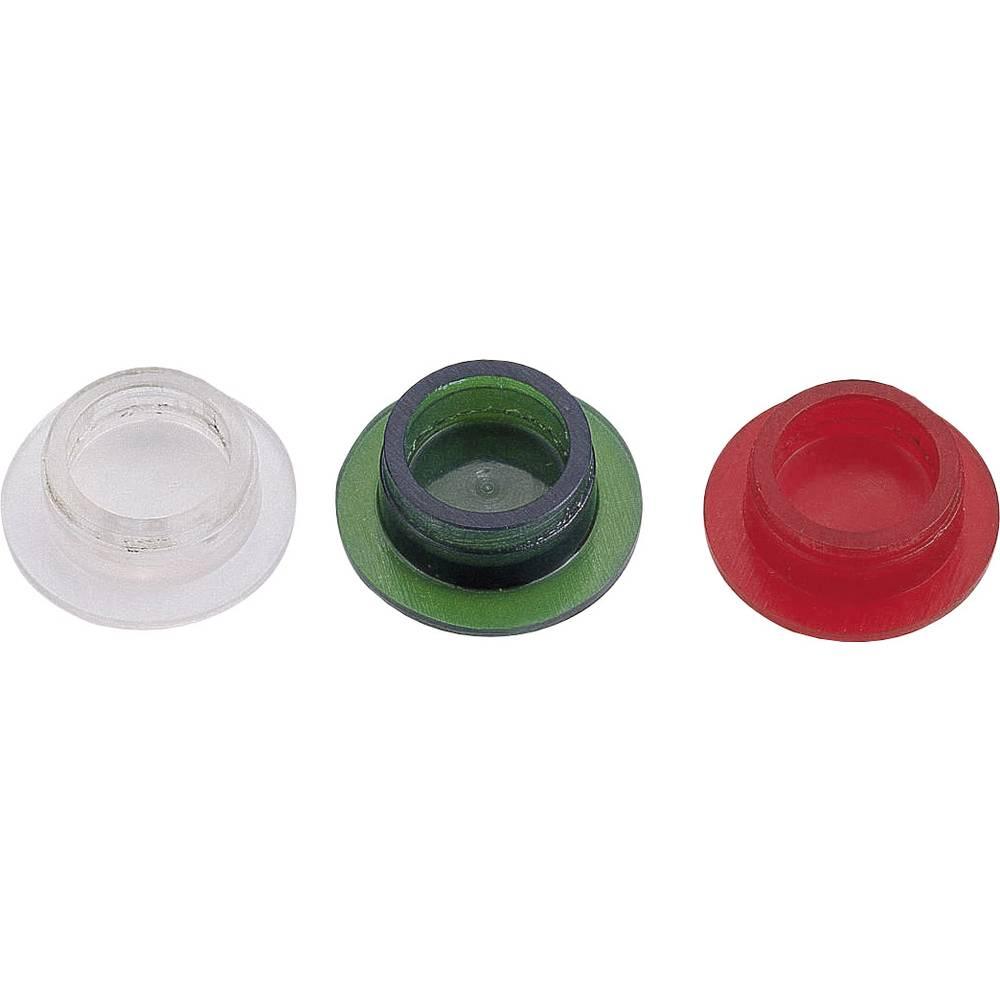 LED pokrovček, rdeči, primeren za LED, Strapubox LA1 rdeči