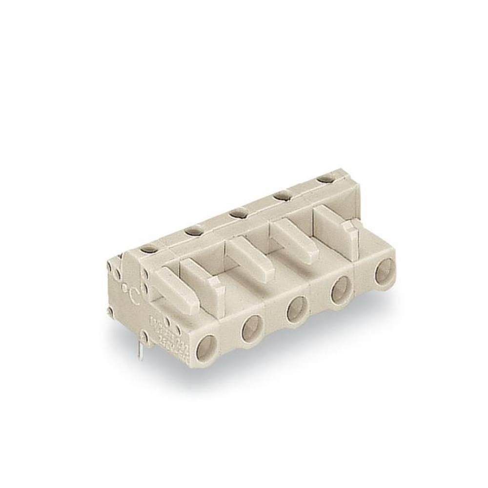 Tilslutningskabinet-printplade 722 (value.1361129) Samlet antal poler 9 WAGO 722-839 Rastermål: 7.50 mm 25 stk