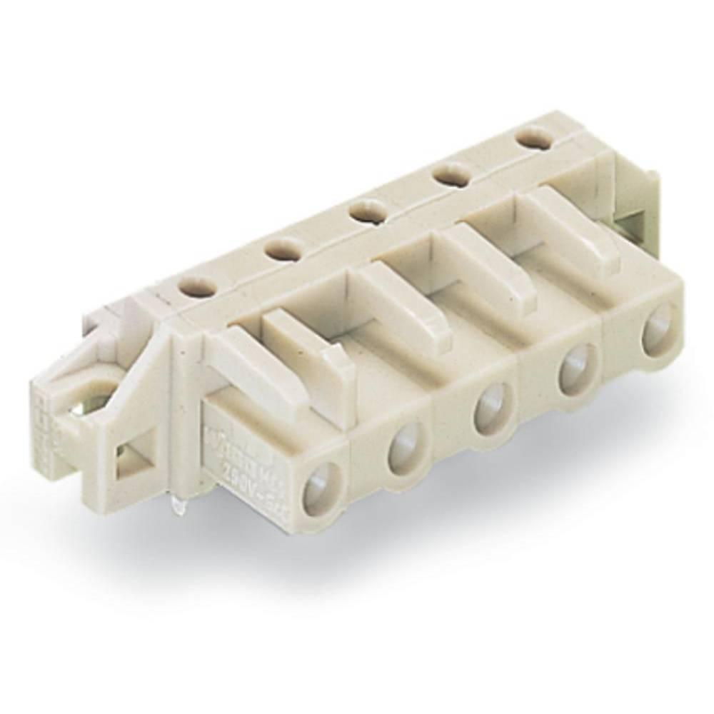 Tilslutningskabinet-printplade 722 (value.1361129) Samlet antal poler 4 WAGO 722-834/031-000 Rastermål: 7.50 mm 50 stk
