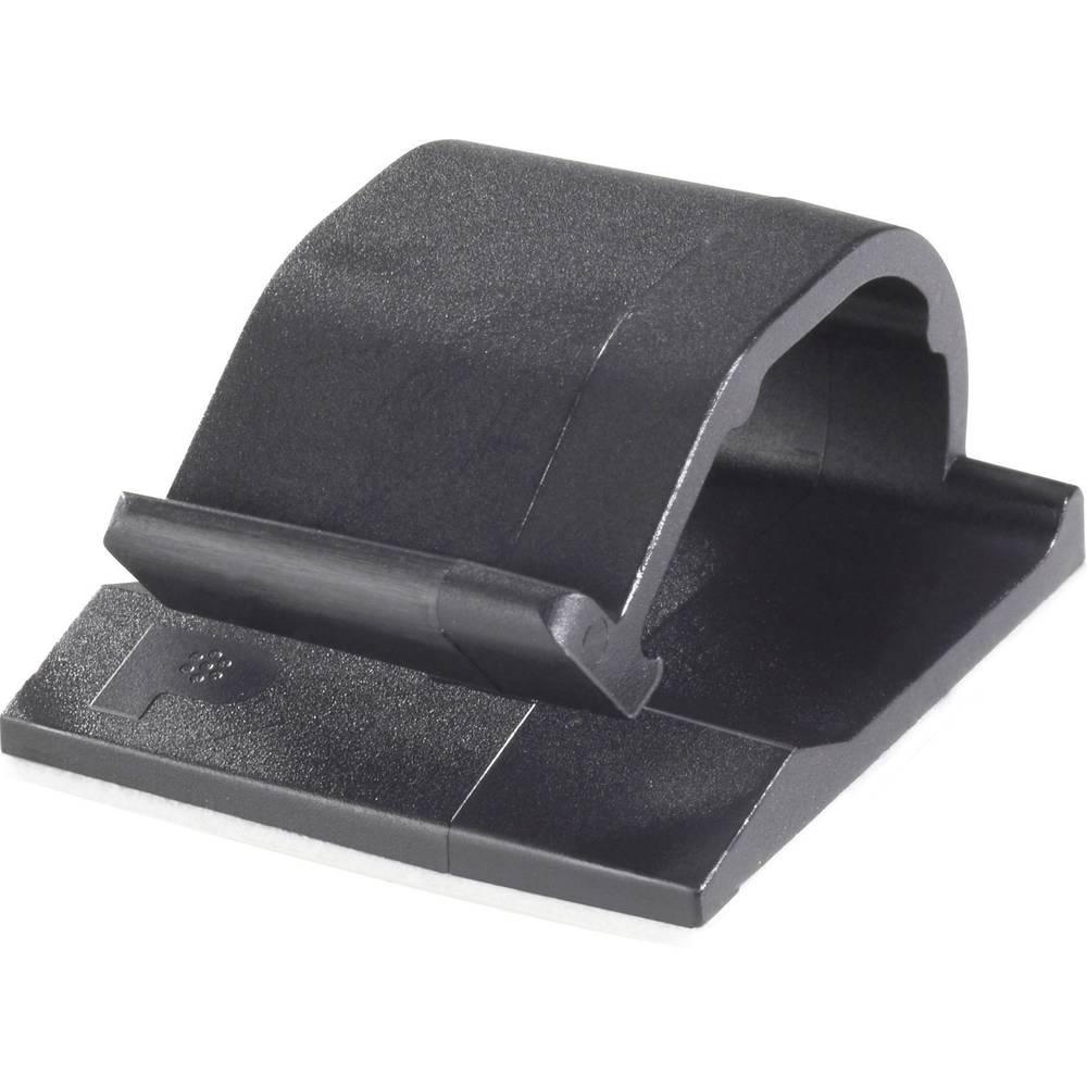 Sponka za kable samolepljiva črne barve Panduit ACC19-AT-C0 1 kos