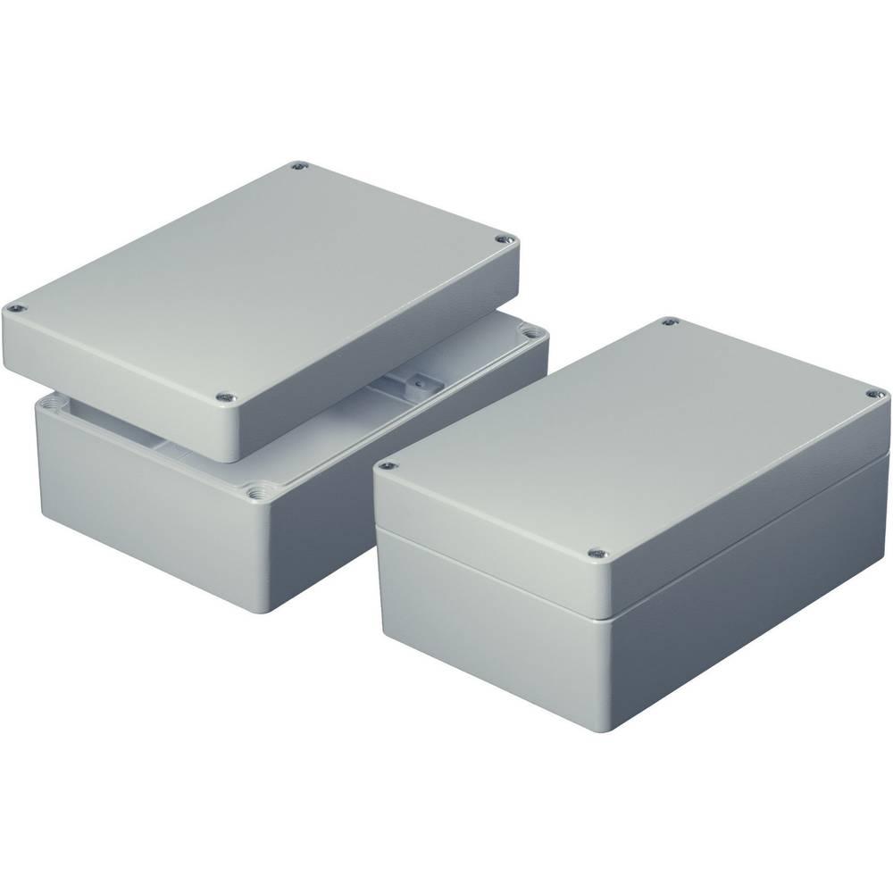 AS062-Univerzalno kućište, aluminij, sivo (RAL 7032), 65x65x40mm