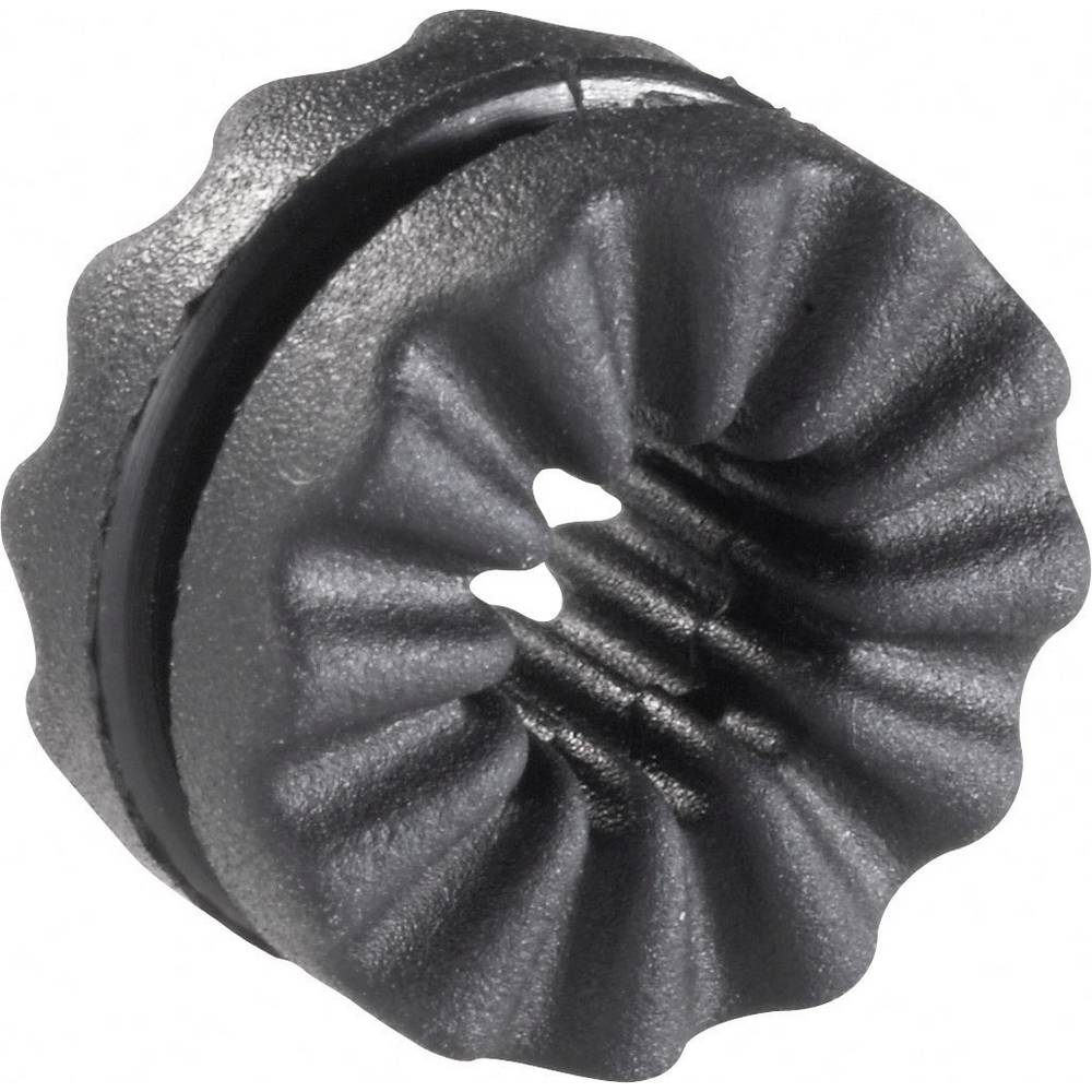 Protivibracijska ovojnica, promjer sponke (maks.) 4.8 mm crne boje Richco VG-4 1 kom