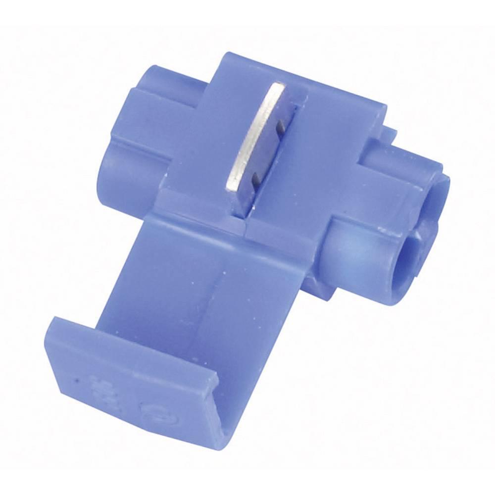 Spojka za šibki tok, prilagodljiva: 0.75-1 mm, togost: 0.75-1 mm, št. polov: 2, 3M 80-6100-3104-1, 1 kos, modre barve