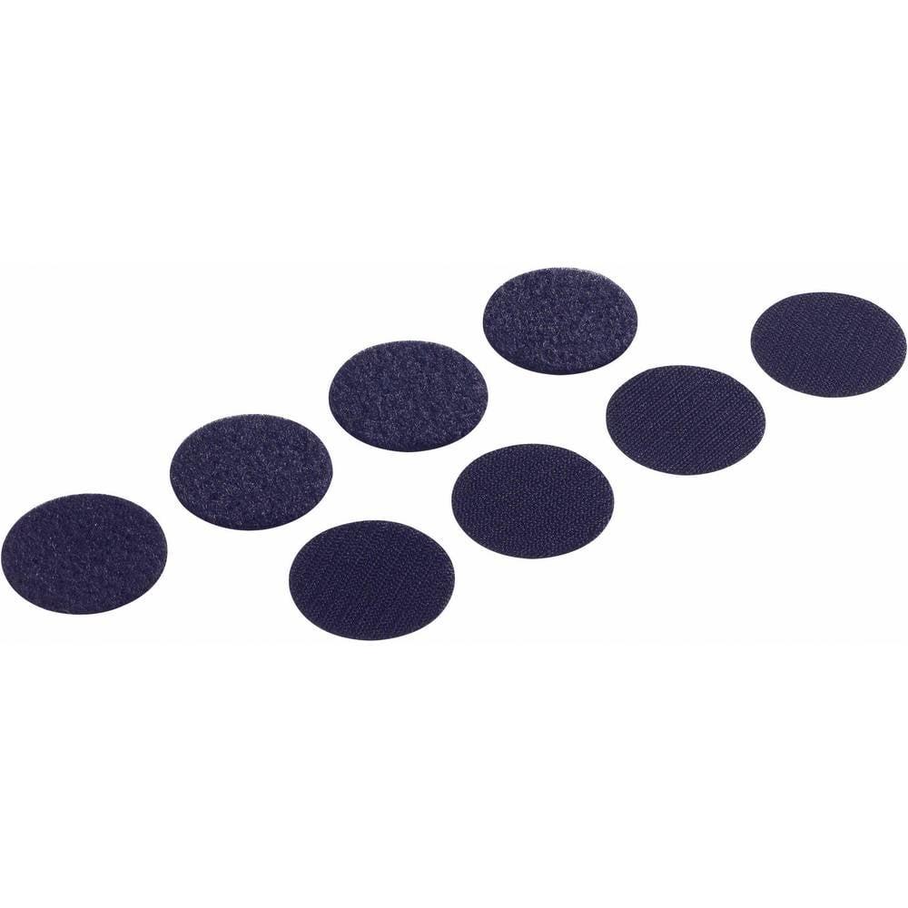 Sprijemalne ploščice 8 kosov PS14 črne 19MM 685-330 Fastech