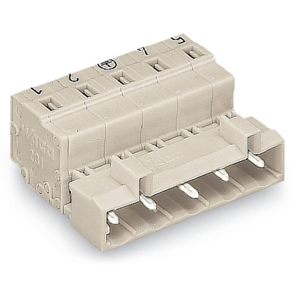 Pinski konektor (standarden) WAGO 723-607, mere: 7.50 mm 50 kosov