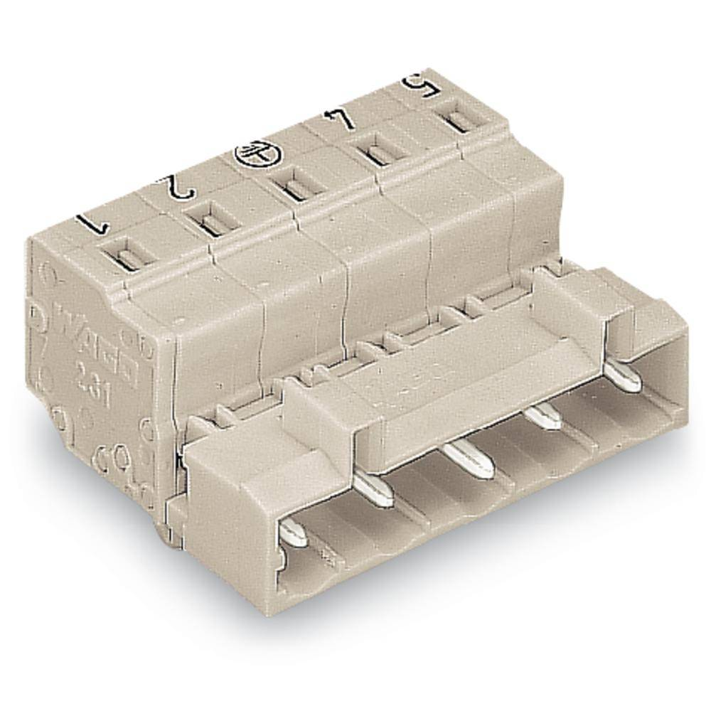 Pinski konektor (standarden) WAGO 723-607/018-034, mere: 7.50 mm 50 kosov