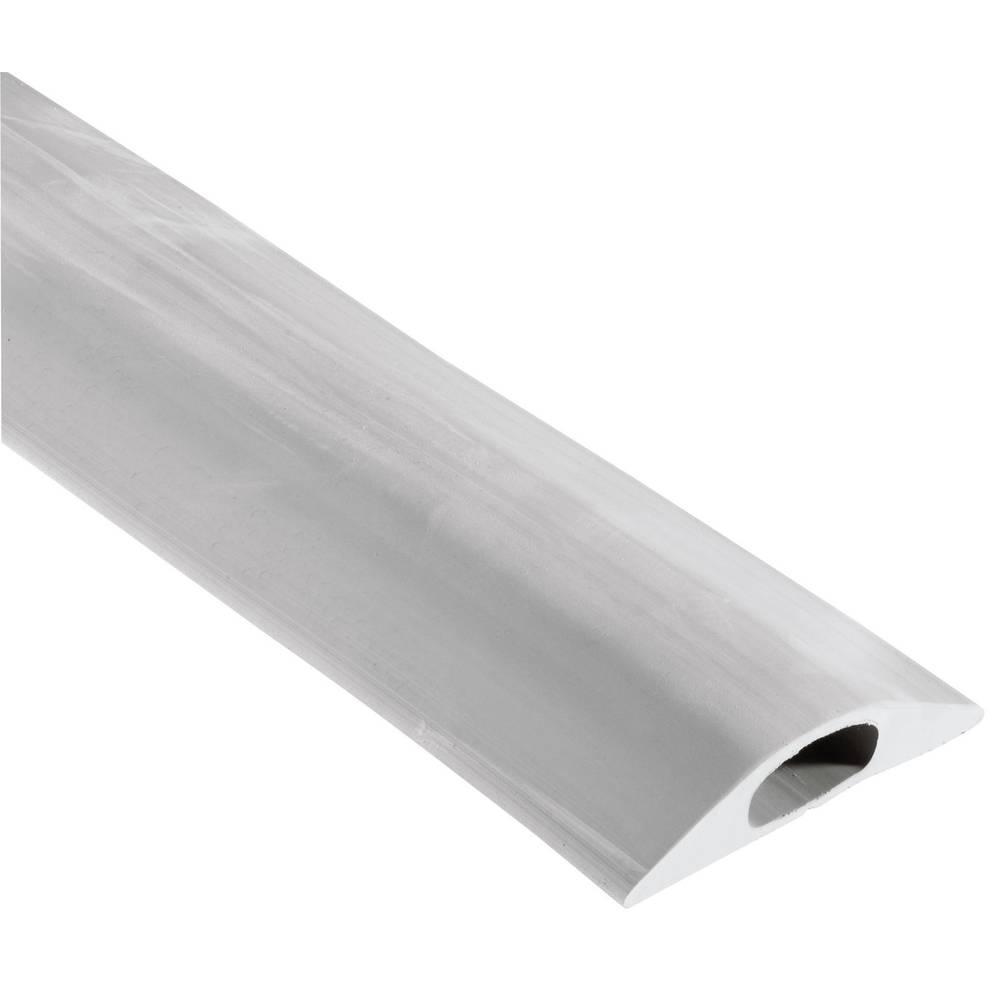 Talna zaščita za kable Vulcascot Snap Fit B, (D x Š x V) 3.000 x83 x 14 mm, sive barve, 1 kos