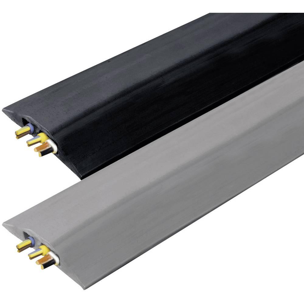 Talna zaščita za kable Snap Fit BNC (D x Š x V) 4500 x 108 x 14 mm črna Vulcascot vsebina: 1 kos