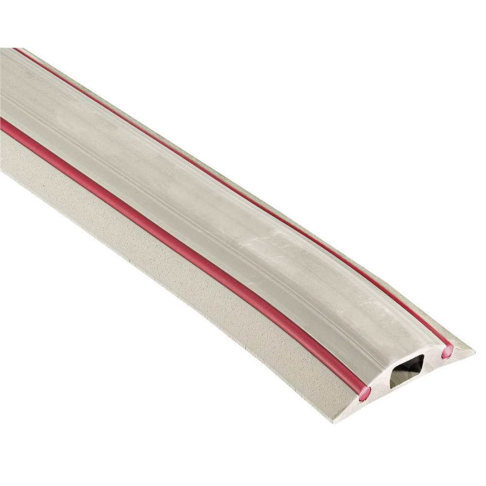 Talna zaščita za kable Vulcascot VUS-020 Snap Fit DAN, O: 30 mm,3.000 x 83 x 16 mm, siv, 1 kos