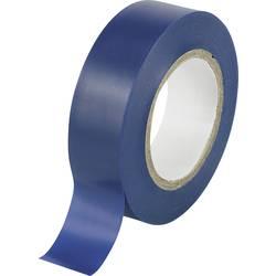 Izolirni trak modre barve (D x Š) 10 m x 19 mm TRU COMPONENTS 1563947 1 kolut