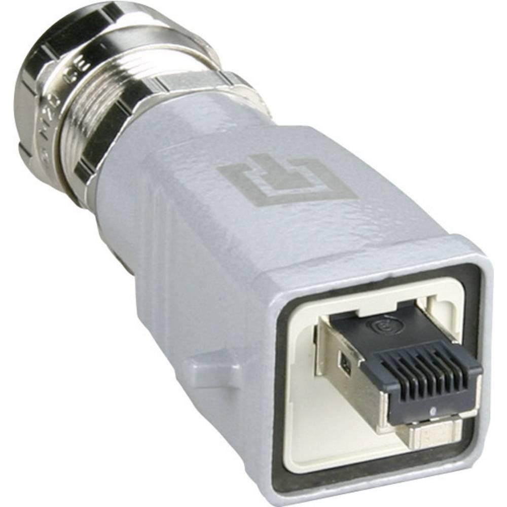 Sensor-, aktuator-stik, Tilslutning, lige Pol-tal (RJ): 8P8C Metz Connect 1401465010ME 1 stk