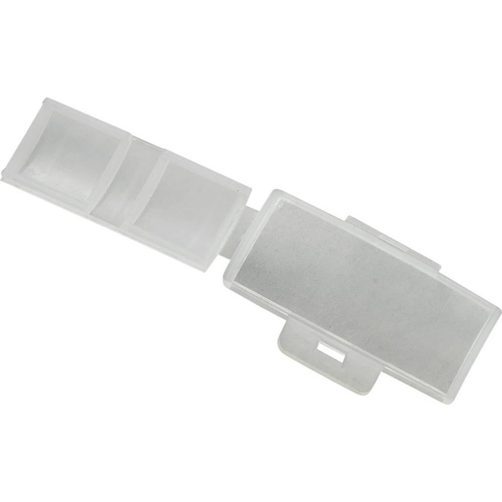 Pločica za označavanje, vrsta montaže: vezica za kabele, područje ispisa: 40 x 17 mm natur boja TRU Components TC-MC2203 1593121 1 kom.