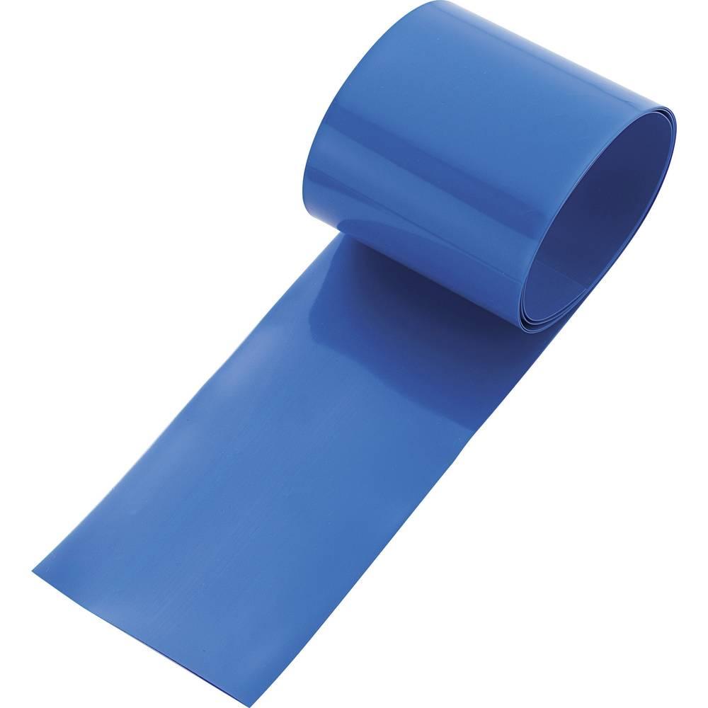 Barvna skrčljiva cev za akumulatorske baterije, 2 : 1, 100 cm, modra, Conrad 93014c88