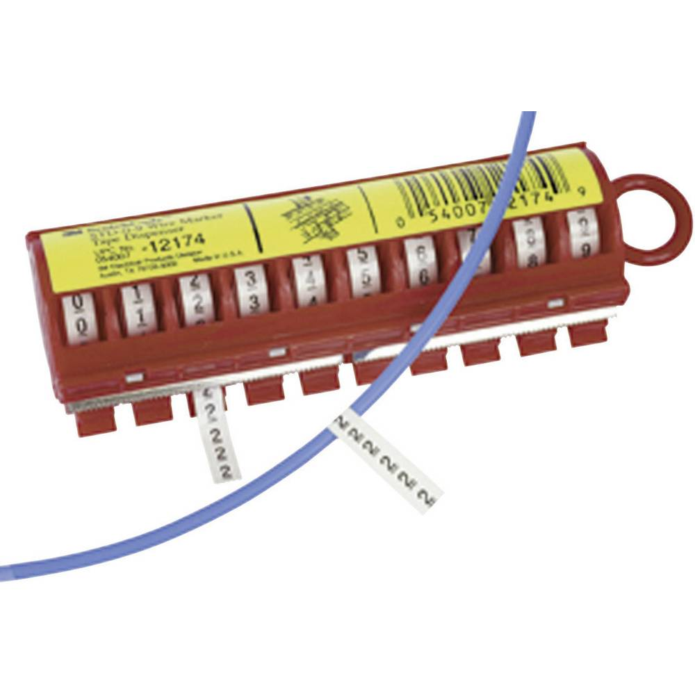 Samolepilne oznake za kable, natisk 9 80-6114-2802-2 80-6114-2802-2 3M