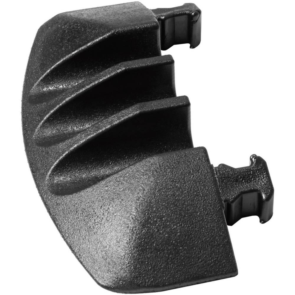 Končni del male za DEFENDER® MINI črne barve Adam Hall vsebuje: 1 kos