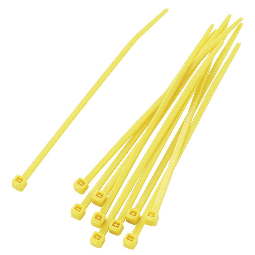 Sortiment vezic za kabele 100 mm žute boje KSS PBR-100-4YW 100 kom