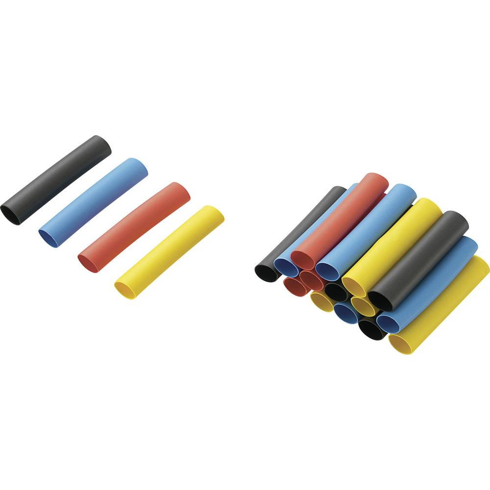 Dodatne skupljajuće cijevi za nadopunu kompleta (Kat.br. 54 23 51) RPS6 Conrad 2 : 1, 40 mm, šarena, 20 kom.