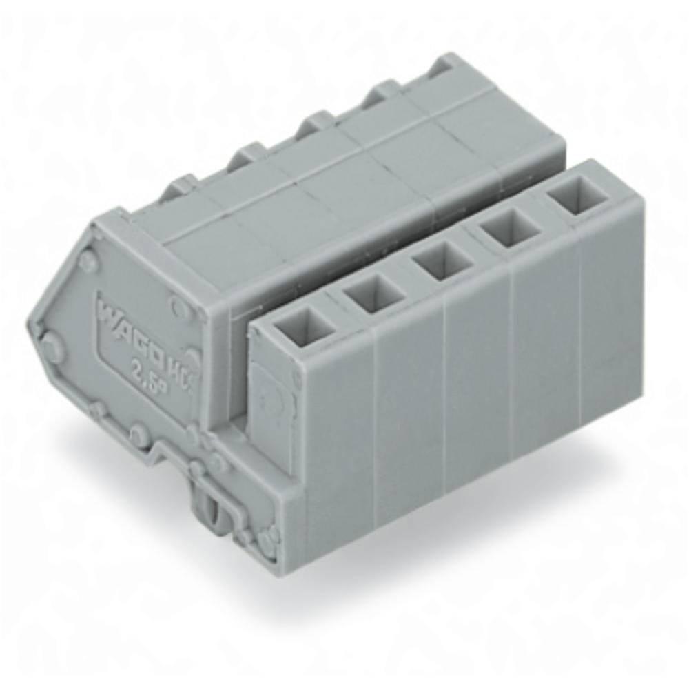 Tilslutningskabinet-kabel 731 (value.1360887) Samlet antal poler 8 WAGO 731-508/008-000 Rastermål: 5 mm 50 stk