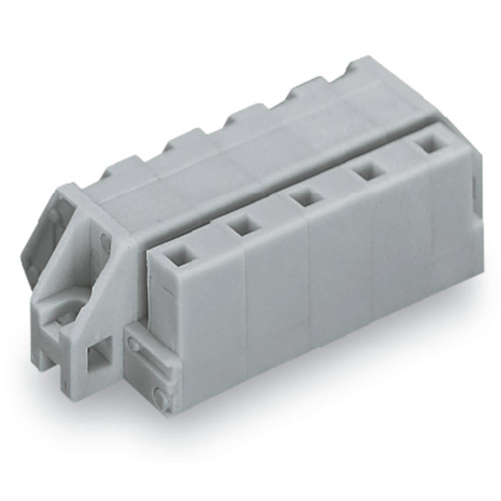 Tilslutningskabinet-kabel 731 (value.1360887) Samlet antal poler 12 WAGO 731-542/031-000 Rastermål: 7.50 mm 10 stk
