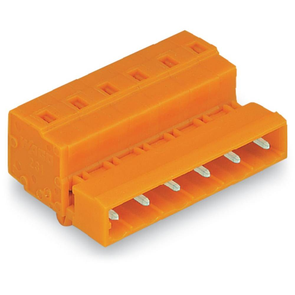 Pinski konektor, število polov: 5 731-635/018-000 WAGO vsebuje: 50 kosov
