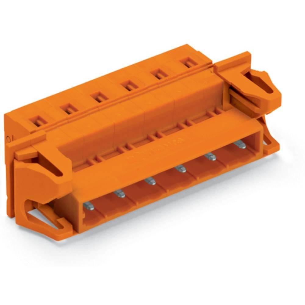 Pinski konektor s priključno prirobnico, število polov: 4 731-634/114-000 WAGO vsebuje: 50 kosov