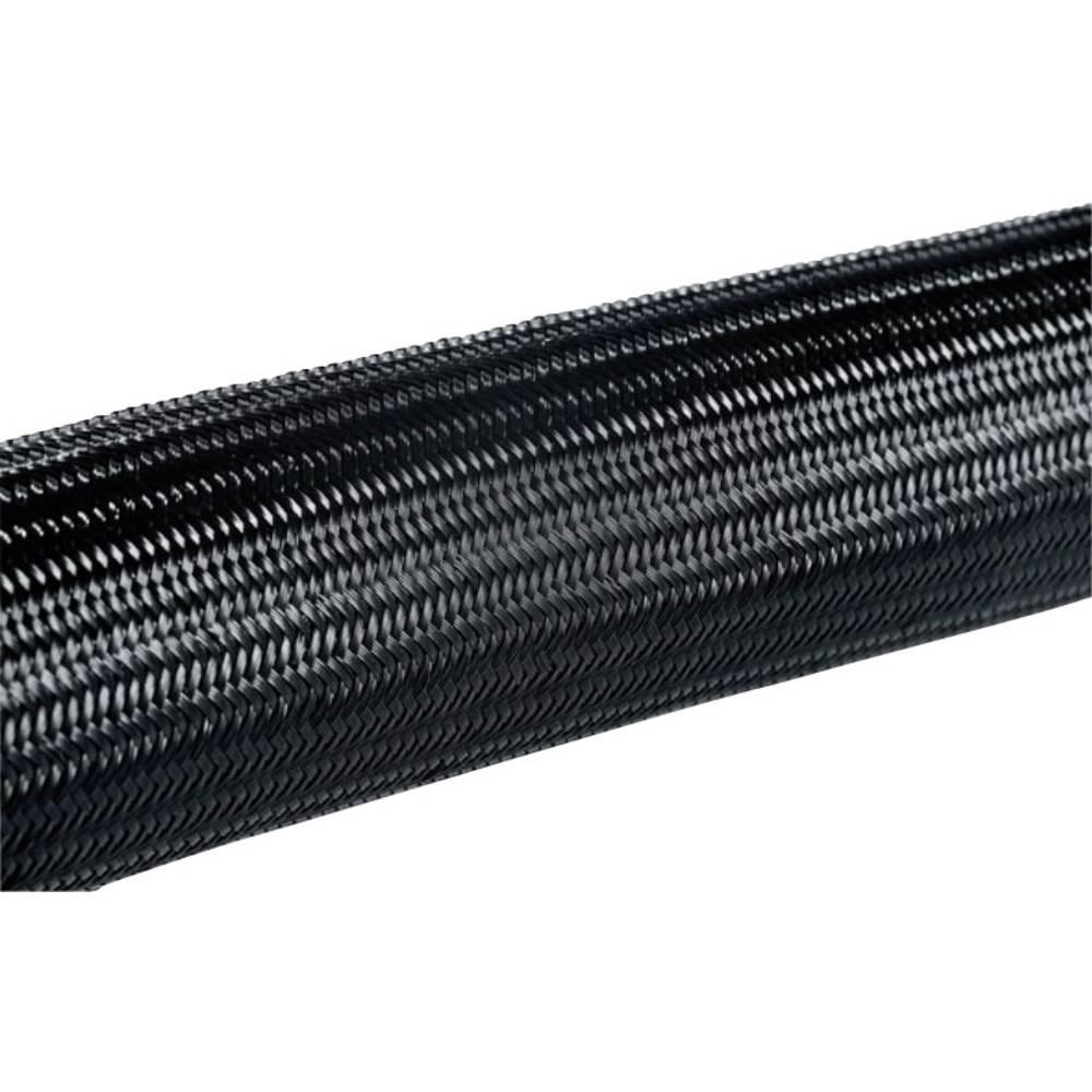 Helagaine pletena cev, premer snopa-: 5 - 10 mm HEGPA6608-N66-BK-C4;HellermannTyton vsebuje: meterski snop
