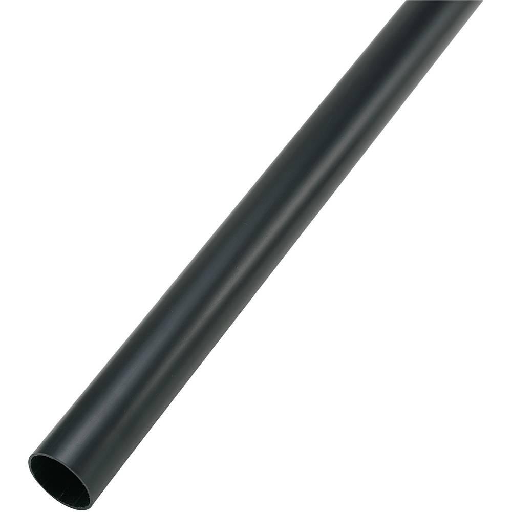 Skrčljive cevke, debele stene,6 1, črne, 1 paket 28531c7